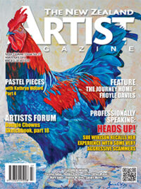 Cover-April-March-2018 - Aotearoa Artists - The New Zealand Artists Magazine