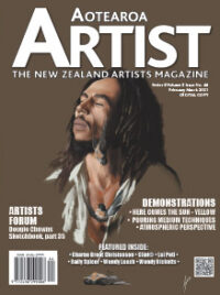 Aotearoa Artist - The New Zealand Artists Magazine Volume 2 issue 44