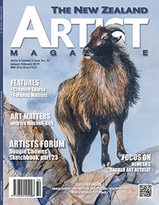 Cover-January-February-2019 - Aotearoa Artists - The New Zealand Artists Magazine