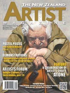 Cover-July-August-2018 - Aotearoa Artists - The New Zealand Artists Magazine