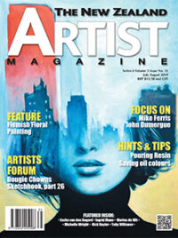 July August 19 - Aotearoa Artists - The New Zealand Artists Magazine