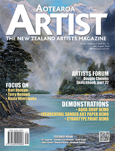 Aotearoa Artist - The New Zealand Artists Magazine - Issue 41 July/August 2020