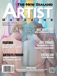 Cover-May-June-2019 - Aotearoa Artists - The New Zealand Artists Magazine