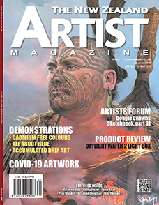 Aotearoa Artist - The New Zealand Artists Magazine - Issue 40 May/June 2020