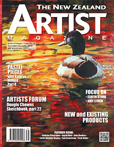 Cover-November-December-2018 - Aotearoa Artists - The New Zealand Artists Magazine