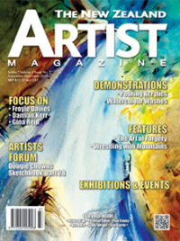 Cover-November-December-2019 - - Aotearoa Artists - The New Zealand Artists Magazine