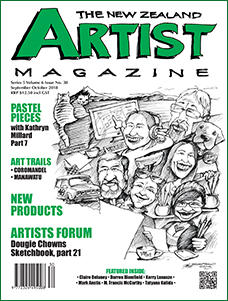 Cover-September-October-2018 - Aotearoa Artists - The New Zealand Artists Magazine