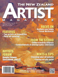 Cover-September-October-2019 - - Aotearoa Artists - The New Zealand Artists Magazine