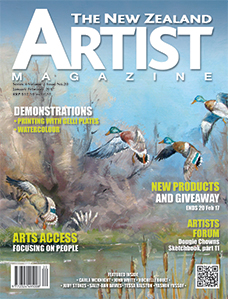 January/February 2017 - Volume 2 Issue 20 - Aotearoa Artist