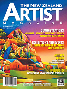 March/April 2017 - Volume 3 Issue 21 - Aotearoa Artist