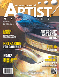 July/August 2016 - Volume 5 Issue 17 - Aotearoa Artist