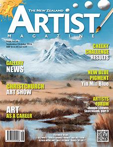 September/October 2016 - Volume 6 Issue 18 - Aotearoa Artist