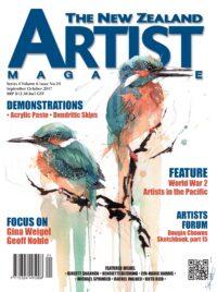 September/October 2017 Volume 1 Issue 24 - Aotearoa Artist