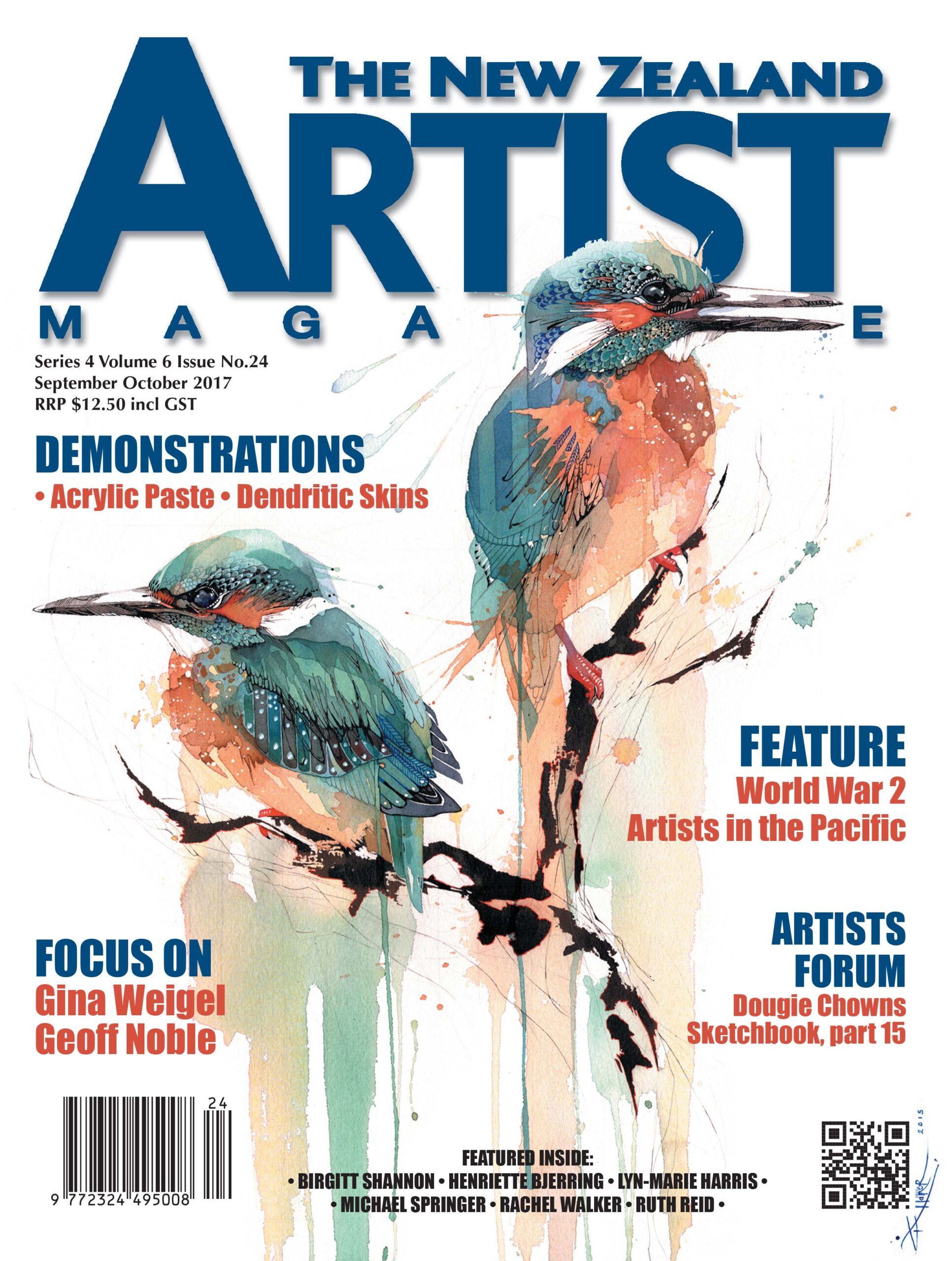September/October 2017 Volume 1 Issue 24 - Aotearoa Artist