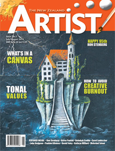 July/August 2014 - Volume 5 Issue 5 - Aotearoa Artist