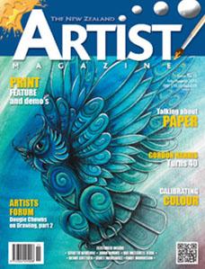 July/August 2015 - Volume 5 Issue 11 - Aotearoa Artist