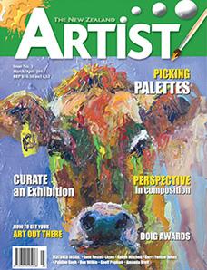 March/April 2014 - Volume 3 Issue 3 - Aotearoa Artist