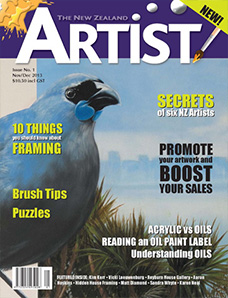 November/December 2013 - Volume 1 Issue 1 - Aotearoa Artist