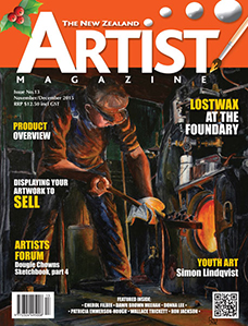 November/December 2015- Volume 1 Issue 13 - Aotearoa Artist