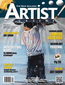 September/October 2015 - Volume 6 issue 12 - Aotearoa Artist