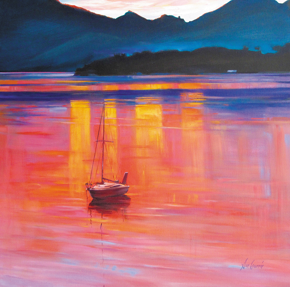 Sue Currie - Aotearoa Artist
